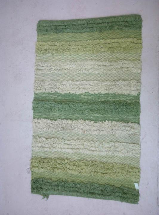 Alfombra Pelo Largo Verde Prop Art